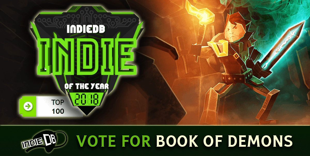 Vote for Book of Demons
