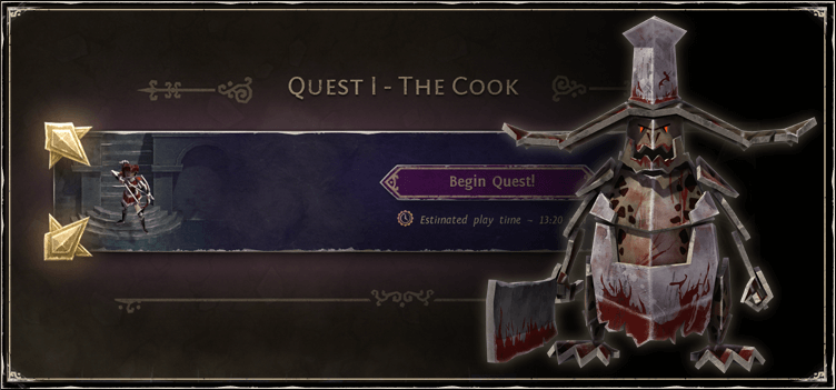 Speedrun to the Cook!