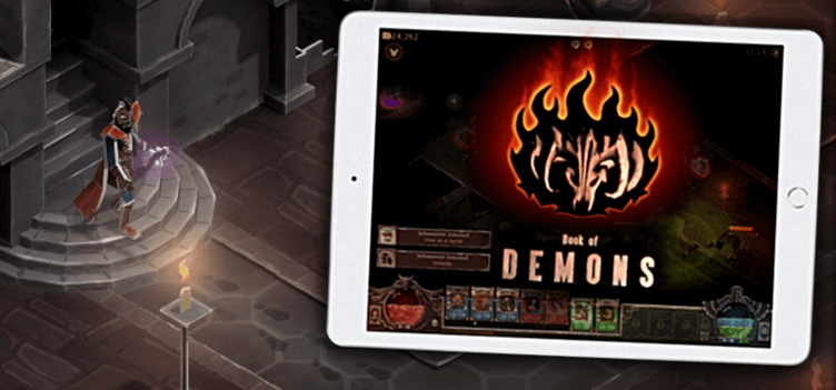 Get Book of Demons for iPad!