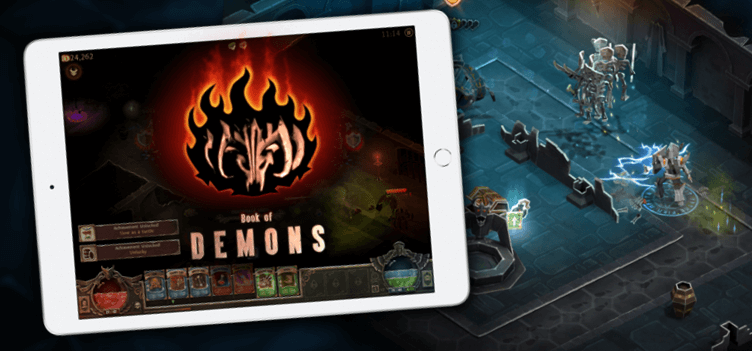 Preorder Book of Demons for iPad!